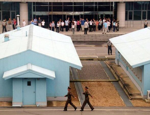 探訪冷戰最後角落板門店:朝韓非軍事區 充滿火藥味