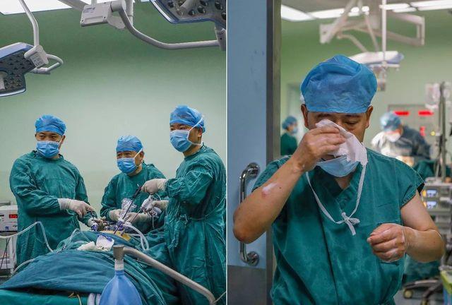 醫生父親去世仍堅持手術,結束後淚流滿麵