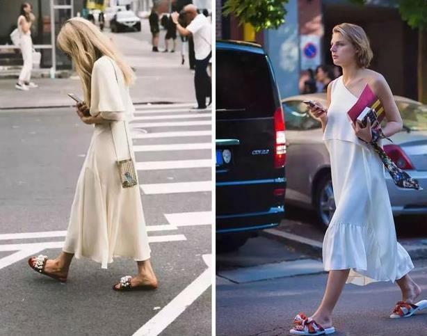 女生在夏天适合穿女生,有v女生的?底鞋子裙小说图片