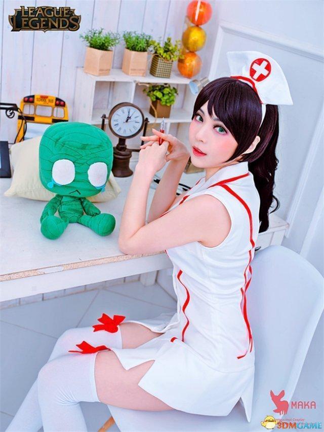 韩性感Cos《英雄大全》阿卡丽联盟图片给你图片大全护士图片酱大全性感萝莉美女图片
