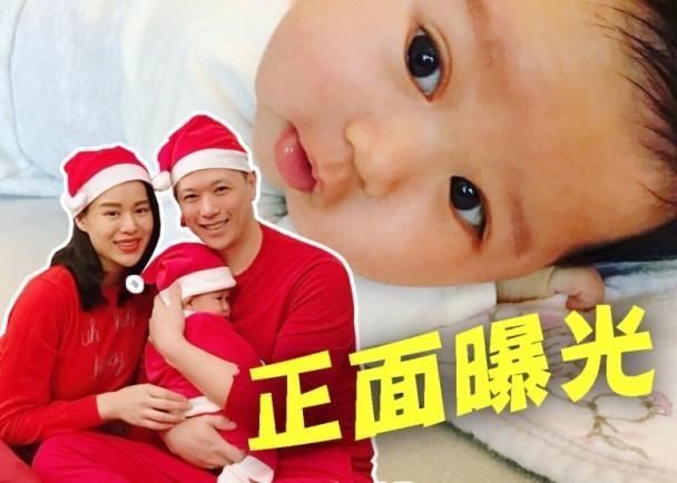 胡杏兒丈夫曬兒子正麵照 還透露了孩子的中文名