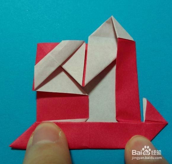 折纸双喜的步骤