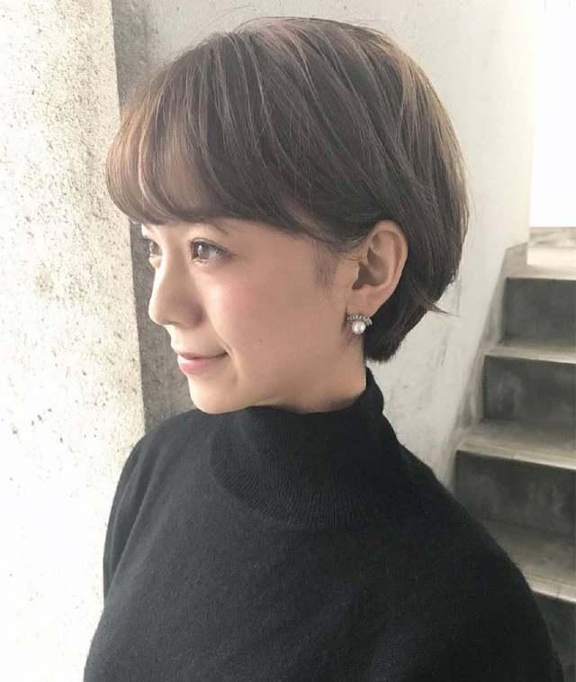 2018最新流行的露耳图片发型短发!短发!男生发型90后女生图片