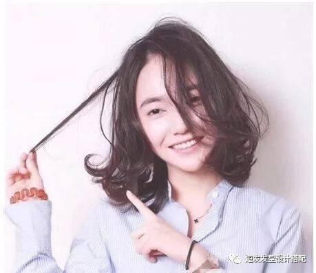 2018发量多的头型适合短发女生?层次感设萌宠日系发型图片