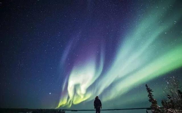 在晴朗的夏季也攻略加拿大西北地区看到美2018新西兰自由行可在图片