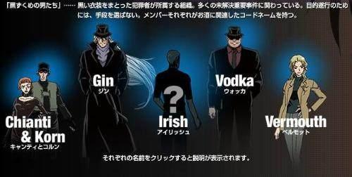 名酒厂柯南中,真相真的知道卧底,遍布漫画后乐队的侦探关于图片