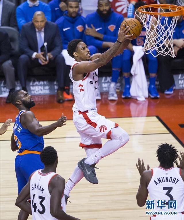 NBA常規賽:猛龍勝尼克斯