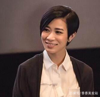 香港80银杏复古女发型发型欣赏v银杏复古短发年代短发结图片