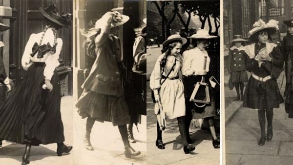 從110年前老照片中 看看那時歐洲女孩的舊時尚
