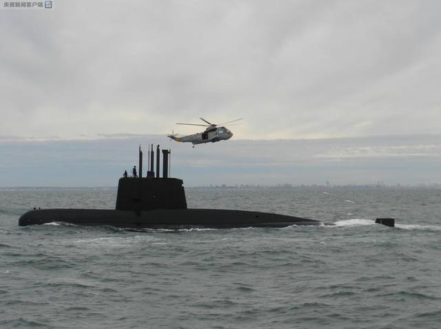 阿根廷海軍確認失聯潛艇上有44名船員 已展開搜救工作