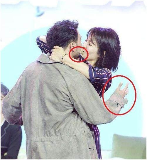 刘涛杨烁什么关系假戏真做亲吻动图,感觉杨烁喜欢刘涛关系不一般