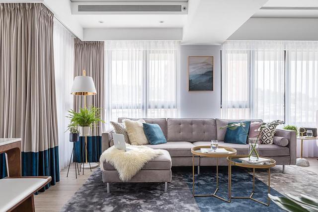 室内设计案例-100公寓色彩装修v案例,专属二建筑设计快题酒店的上法图片