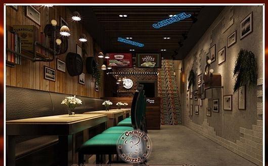 咖蜜儿复式:80的餐饮西餐厅完美诠释小空间油视频小磨图片