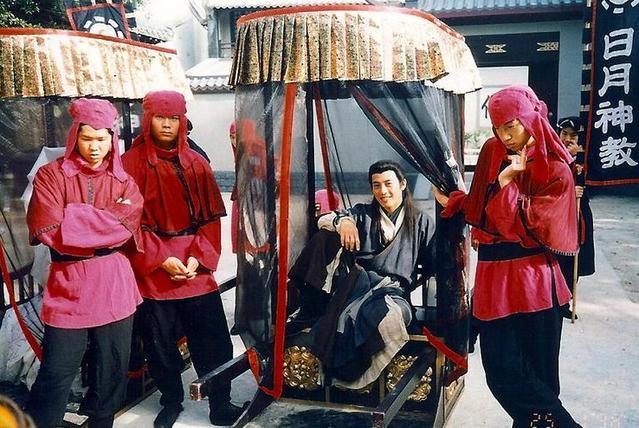 1996年的《笑傲江湖》,吕颂贤是最被观众认2019动态的新年快乐表情包图片