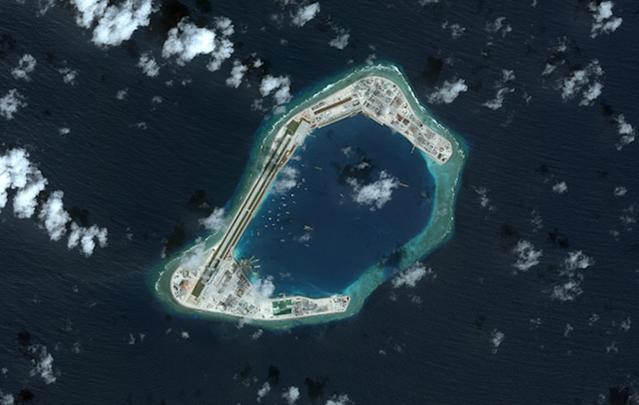美卫星偷窥南海吓了一跳!