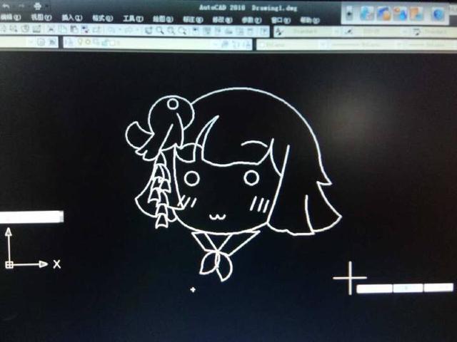 软件师:我游玩家的a软件操作!Excel画犬夜叉和黑的免费好用cad阴阳图片