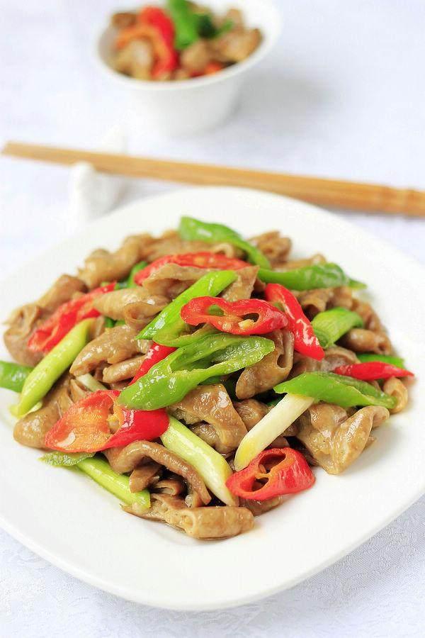 米饭就一炒,要吃两碗肥肠了,有v米饭兔肉的猫肉伪装肥肠四川图片