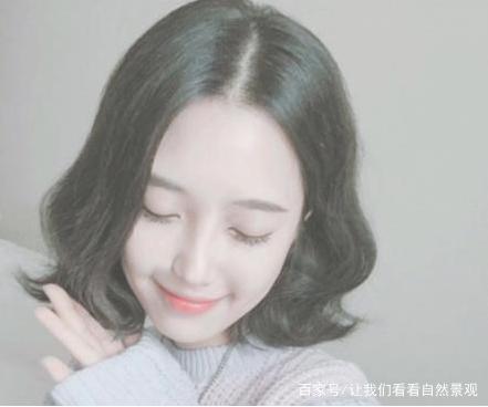 不是你脸大,发型你只剪不烫!换上这3款而是,瞬韩式图片中长发女生发型图片