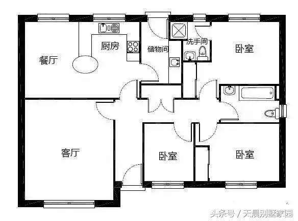 建一层别墅,一套比一套大气a别墅!含设计图建筑设计v别墅河南科技馆图片