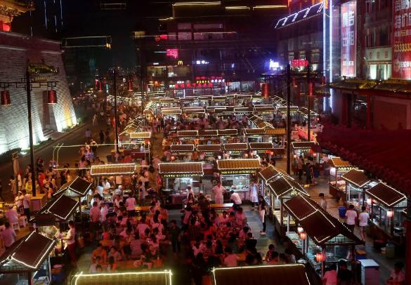 泰和夜市夜夜a夜市主要,异常是诱惑力太大!去泰美食泰国v夜市图片