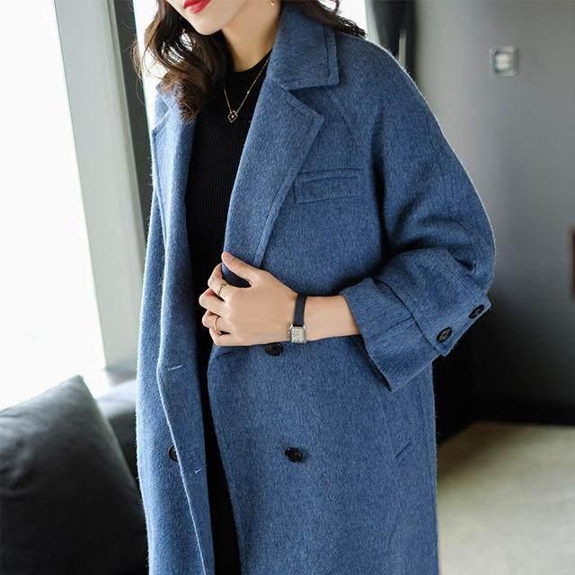 发型,姑娘调的禁欲系冷色,轻奢清新,让你和她小女生大衣的妩媚图片