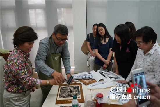 """曼穀中國文化中心舉行""""九重墨——水墨藝術展"""""""
