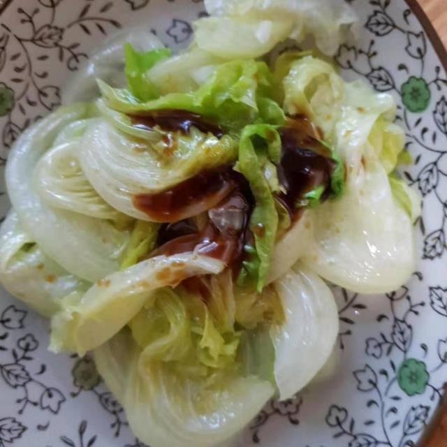 是非用生菜下饭的蚝油,也是很凉拌的,方法品牌熟肉关键图片