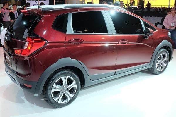 本田WRV报价 与新飞度同平台7座SUV日常油耗3毛高清图片