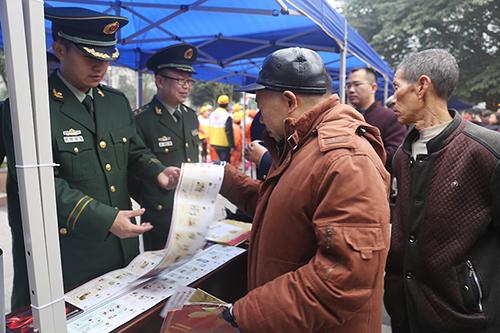 重慶雙橋消防開展主題活動為冬季防火支招