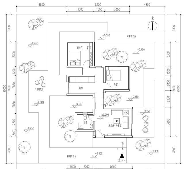 易建筑图纸:现代盖房与景观传统的完美结合,农zimo乐高图纸图片