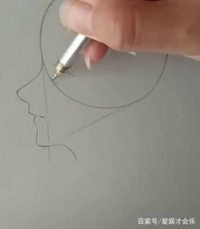 简漫画笔画脸小女孩,关系一个圆,手残都画,一《非常污下笔》漫画图片