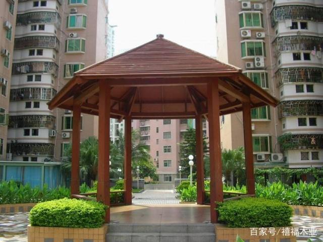 防腐木材料的凉亭v材料别墅风水盖最新型图片
