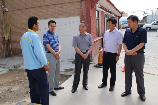 县政协主席赵春深入新坝镇检查安全生产工作西六安外小学图片