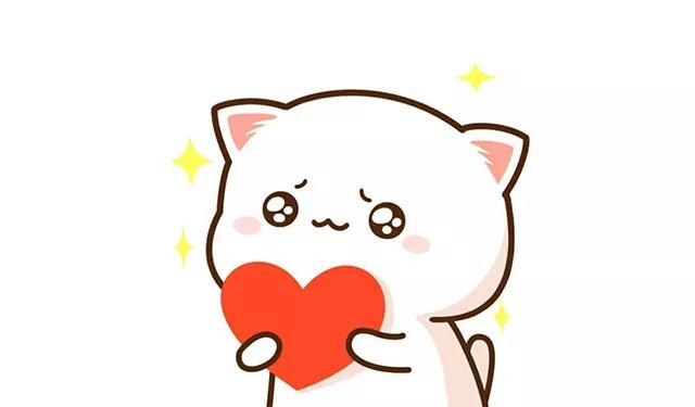 蜜桃猫简笔画画法,可爱的表情一起来画吧!我最好表情包图片