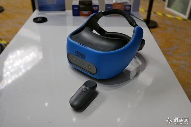 搭載驍龍835的VR一體機HTC VIVE Focus麵世 自由走動無限遠 再無空間困擾