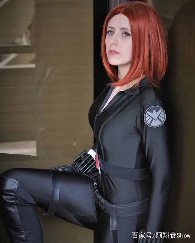 国外超性感黑寡妇cosplay,前2张小编已v性感,第mariahcarey图片性感图片
