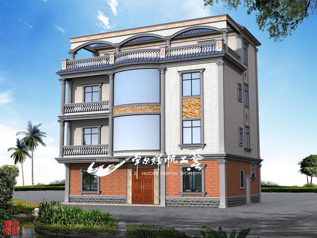 外墙别墅外观装修设计图集,建造师设计师米房屋v外墙525×图片