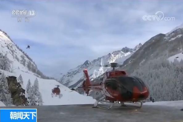 瑞士被困遊客陸續撤離滑雪勝地