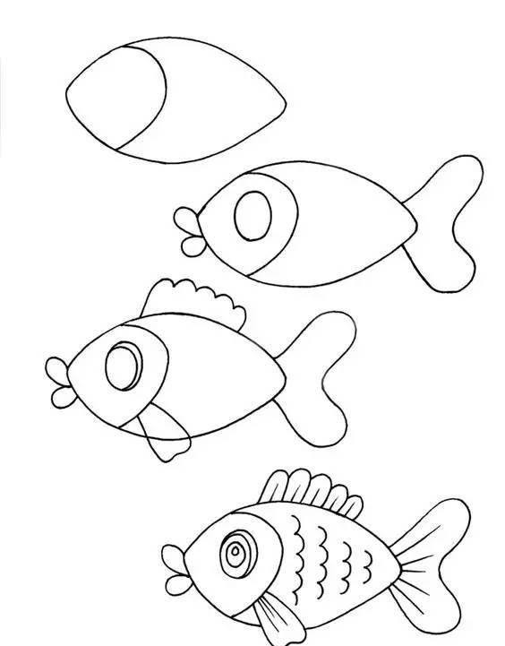 幼儿园动物简笔画大全:幼师面试必备,近百款含