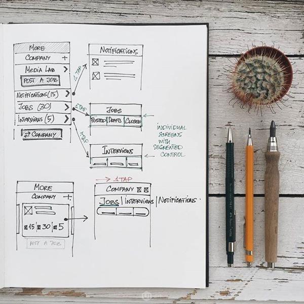 UI/UX设计师构建一款体系的v体系空间教学楼小产品景观设计图片