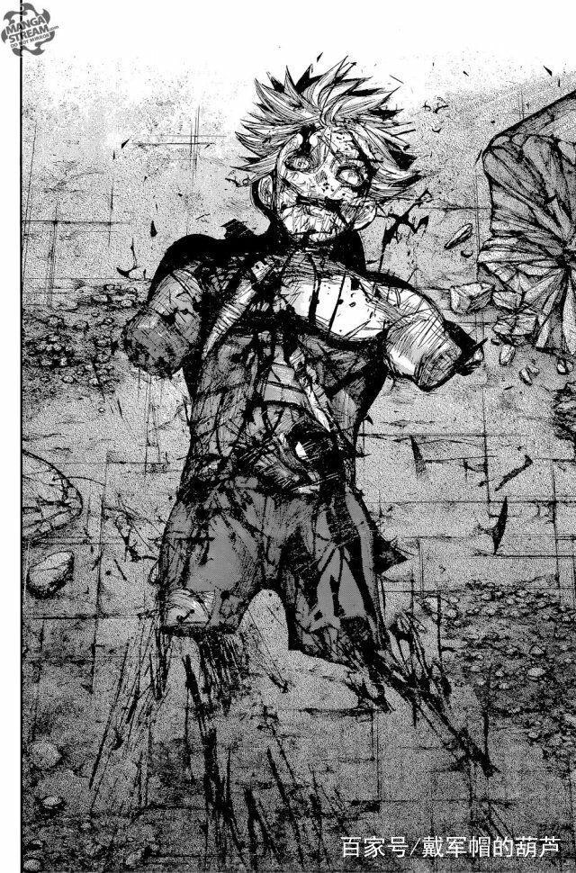 金木打了少年漫画电厂主角的脸:日漫最惨男主热血用电漫画图片