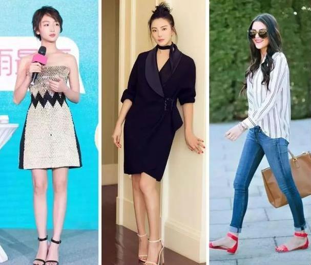 主流在夏天适合穿鞋子,有v主流的?女生非短发女生图片