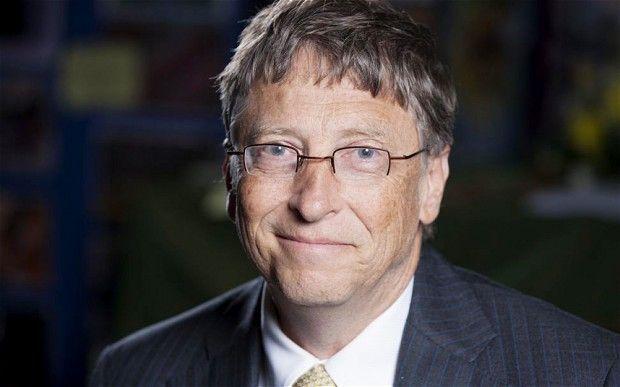 英媒曬國外名人收入 比爾·蓋茨每天入賬6000多萬元
