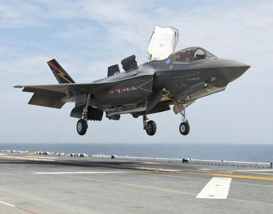 美媒:美軍準航母進駐東亞 可搭載F35B戰機