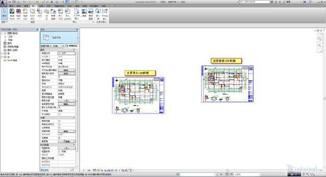 引线们都是将CAD导入Revit中的?cad高手标注颜色图片