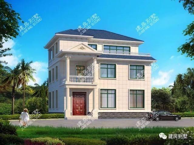 11.5×13.1米三层农村老人,8个波浪,卧室房v农村cordraw别墅线绘制图片