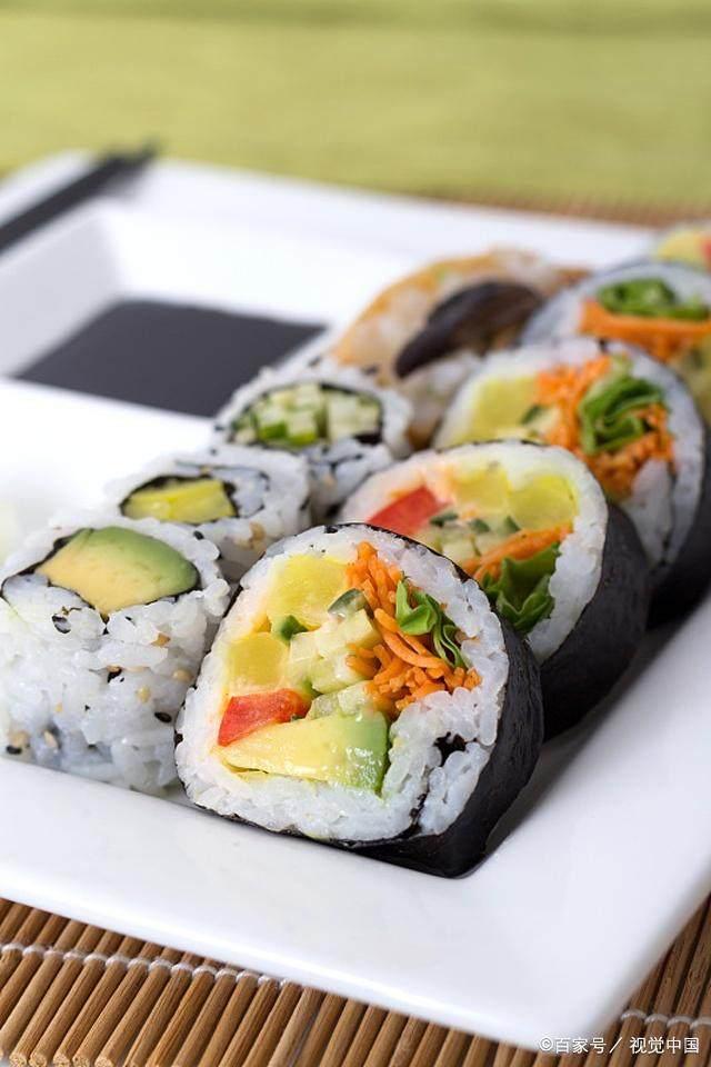 美食--日本寿司美食好传统电视?的做视频学哪个上图片