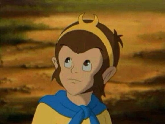 动画片版本《西游记》中的孙悟空,小时候守在电视机前面等着看,也是