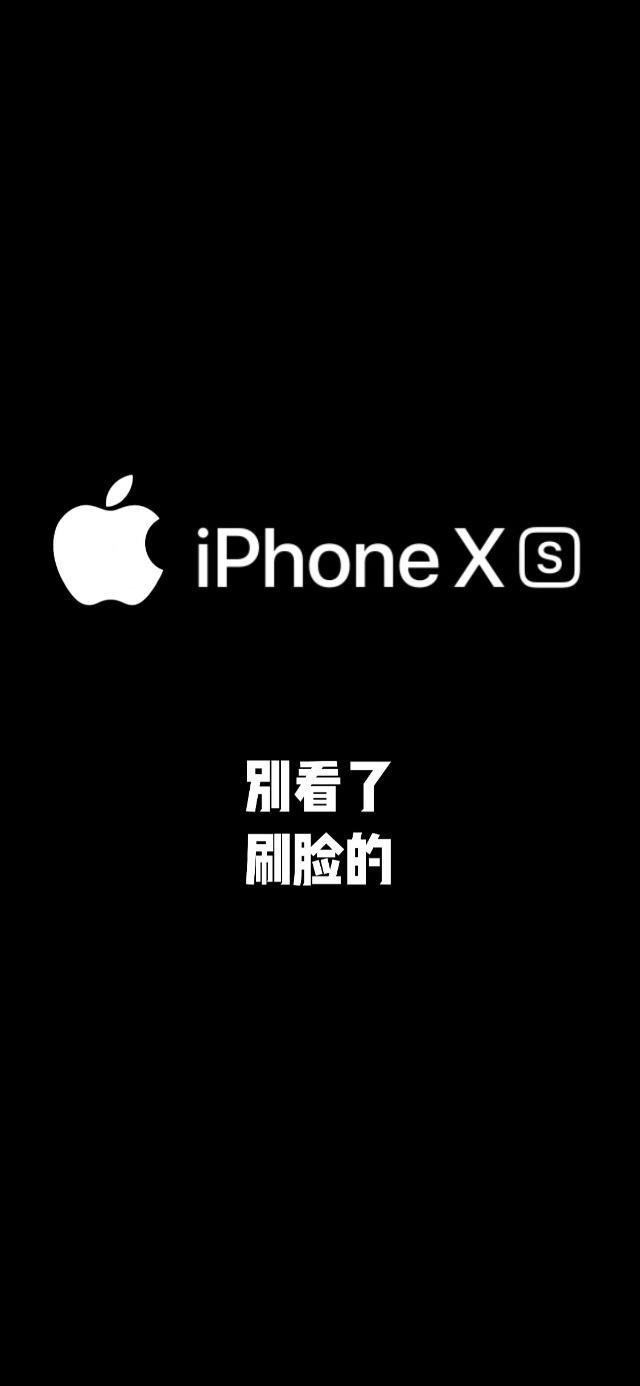 24张适合苹果iPhoneXR/XS手机v苹果简约好看壁纸案图片