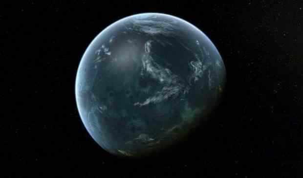 科学家发现1粒含大量水的行星,_地球表面几乎无地面,_或已经在外星人